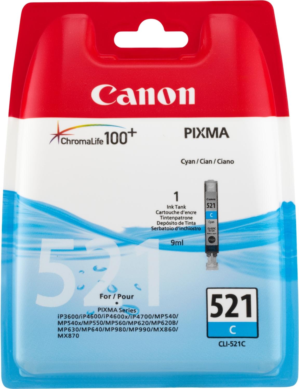 Canon CLI-521 C Original Cian 1 pieza(s)