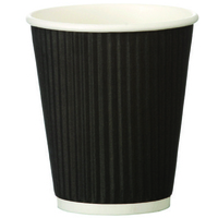 FSMISC RIPPLE RED BEAN 8OZ PAPER CUP PK500