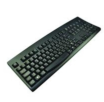 2-Power KEY1001DE USB German Black keyboard