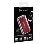 Intenso A5200 Lithium-Ion (Li-Ion) 5200mAh Red power bank