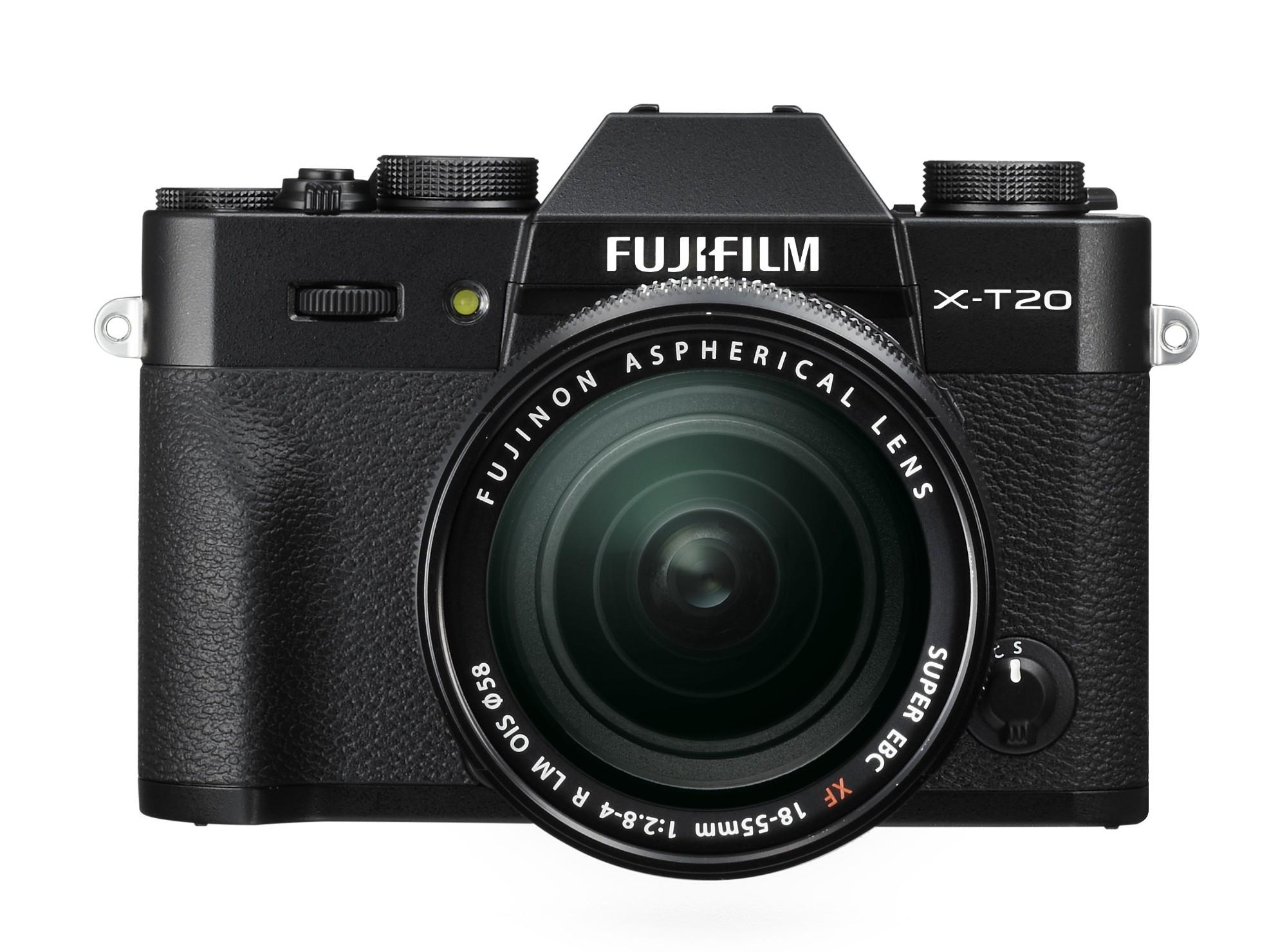 Fujifilm X T20 + XF 18-55mm F 2.8-4 R LM OIS MILC 24.3MP CMOS III 6000 x 4000pixels Black