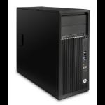 HP Z 240 MT + AMD FirePro W2100 3.4GHz i7-6700 Mini Tower Black Workstation