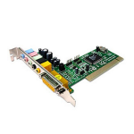 Dynamode S-PCI-6WCH audio card Internal 5.1 channels