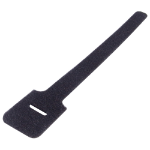 CONNEkT Gear 90-0003 cable tie Velcro strap cable tie Velcro Black 10 pc(s)