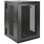 Tripp Lite 18U SmartRack Wall-Mount Rack Enclosure Cabinet, UPS-Depth, Hinged Back