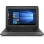 "HP Stream 11 Pro G4 EE Black Notebook 29.5 cm (11.6"") 1366 x 768 pixels Intel® Celeron® N3450 4 GB DDR3L-SDRAM 64 GB eMMC"