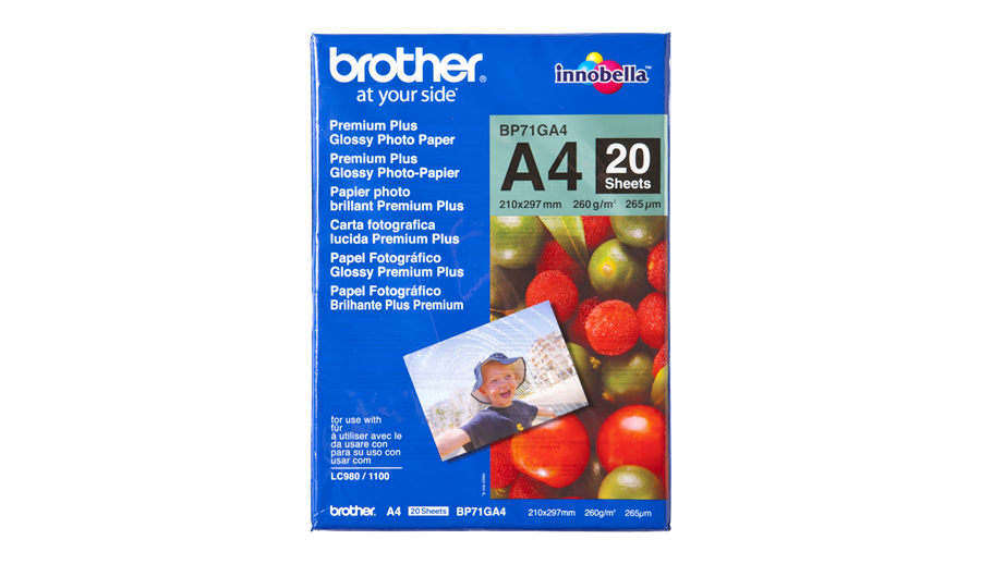 Brother A4 Glossy Paper