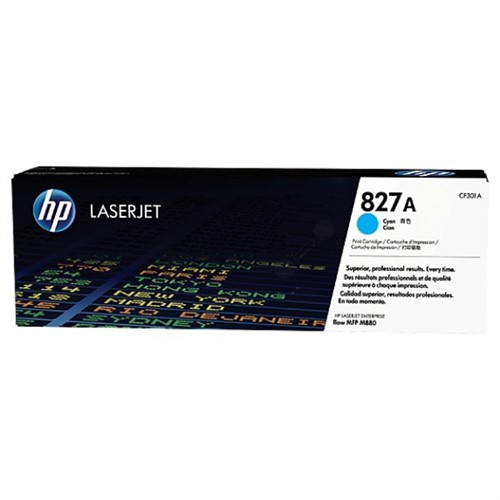 HP CF301A (827A) Toner cyan, 32K pages