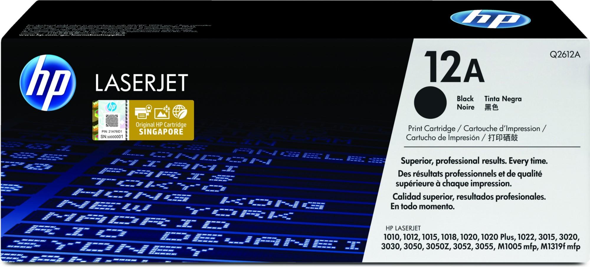 HP Q2612A (12A) Toner black, 2K pages