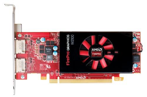 HP AMD FirePro W2100 2GB Graphics Card