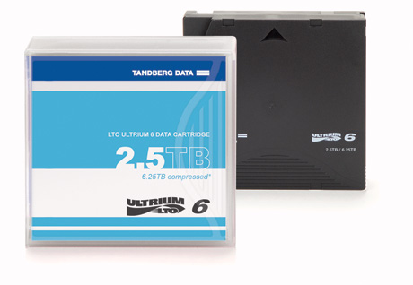 Tandberg Data OV-LTO901605 blank data tape LTO 2500 GB 1.27 cm