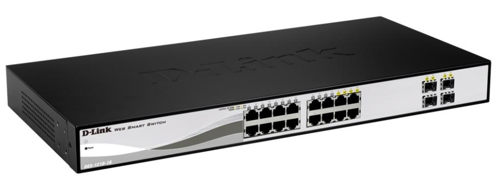 D-Link DGS-1210-16 network switch
