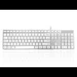 Accuratus KYBAC301-UMAC-US keyboard USB QWERTY US English White