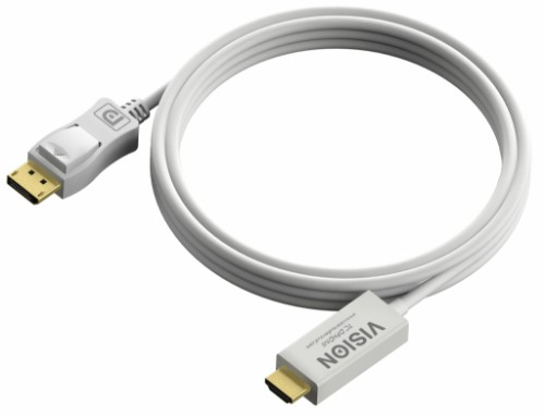 Vision DisplayPort - HDMI, 2m White