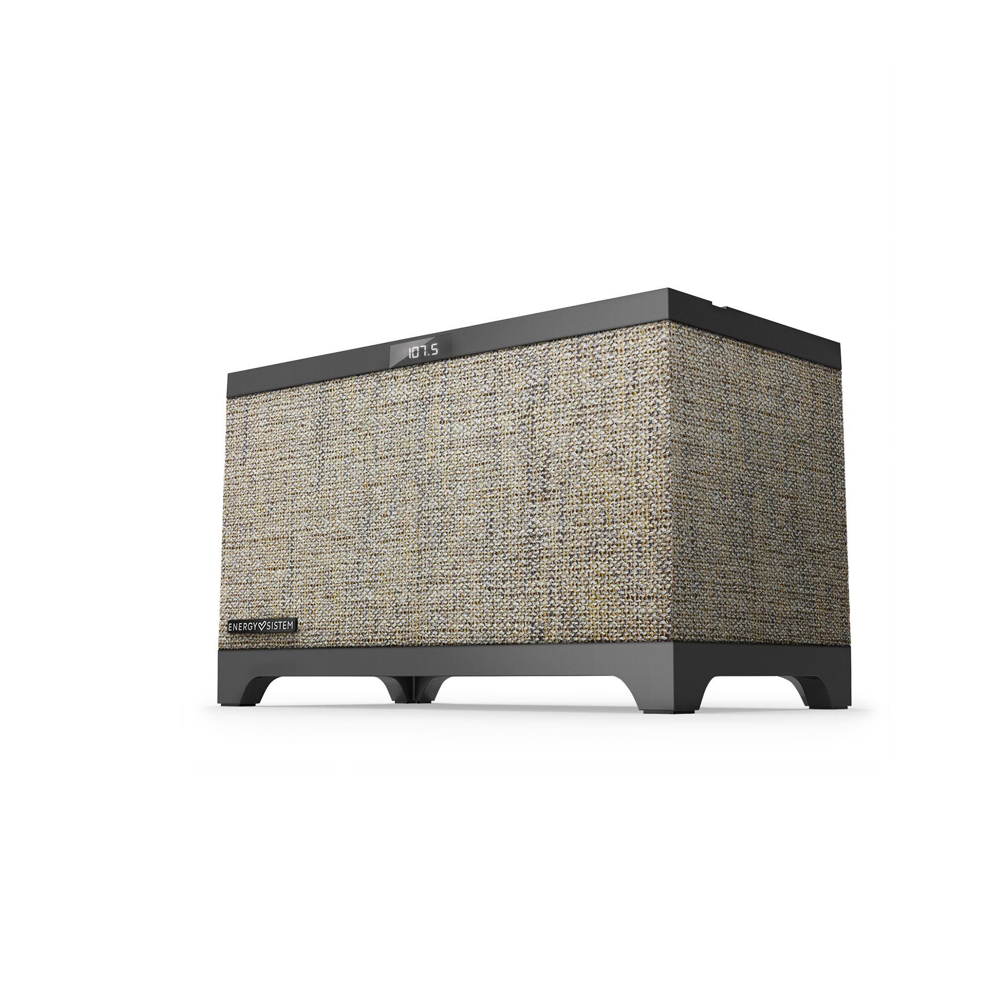 Energy Sistem Home Speaker 4 Studio altavoz De 2 vías 35 W Beige, Negro Inalámbrico y alámbrico