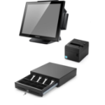 "Capture POS In a Box 2 GHz J1900 38.1 cm (15"") 1024 x 768 pixels Touchscreen Black"