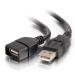C2G 1M USB 2.0 A EXTENSION CABLE - BLACK (3.3FT)