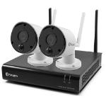 Swann SWNVK-490SD2 video surveillance kit Wireless 4 channels