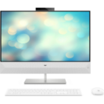 "HP Pavilion 27-xa0004na 68.6 cm (27"") 1920 x 1080 pixels 2.40 GHz 8th gen Intel® Core™ i7 i7-8700T White All-in-One PC"