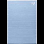 Seagate One Touch STKG2000402 unidad externa de estado sólido 2000 GB Azul