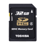 Toshiba HIGH SPEED M102 32GB 32GB MicroSDHC Class 4 memory card