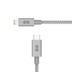 PureGear 62391PG lightning cable 1.2 m Grey