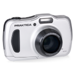 Praktica Luxmedia WP240 Waterproof Camera - Silver
