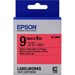 Epson C53S653001 (LK-3RBP) DirectLabel-etikettes, 9mm x 9m