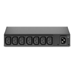 APC AP6015A unidad de distribución de energía (PDU) 0U/1U Negro 8 salidas AC