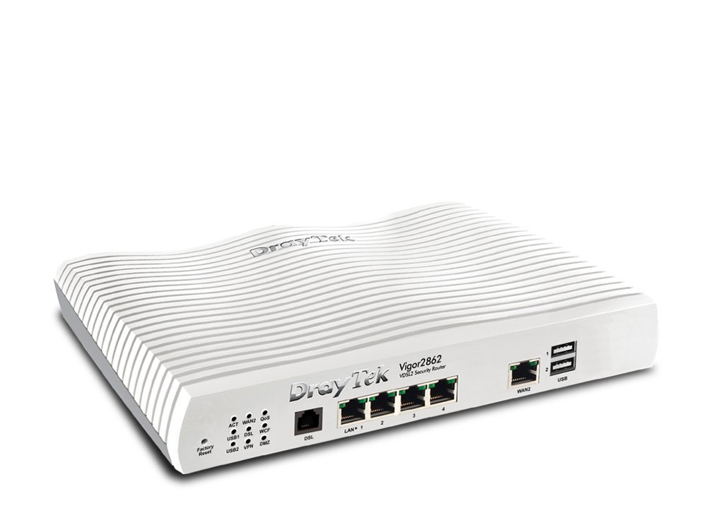 Vigor 2862 Ethernet LAN White wired router