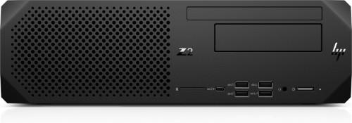 HP Z2 SFF G5 DDR4-SDRAM i7-10700 10th gen Intel® Core™ i7 16 GB 512 GB SSD Windows 10 Pro for Workstations Workstation Black