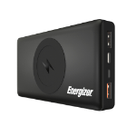 Energizer QE10000CQ power bank Lithium Polymer (LiPo) 10000 mAh Wireless charging Black