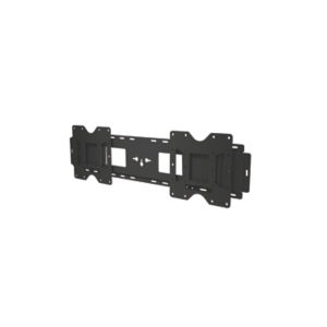 "Peerless LG-WMF86BH flat panel wall mount 2.18 m (86"") Black"
