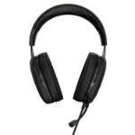 Corsair HS50 Binaural Head-band Black, Green headset