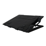 "Zalman ZM-NS2000 notebook cooling pad 43.2 cm (17"") Black"