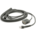 Zebra CBA-R06-C20PBR cable de serie Negro 6 m RJ-45 DB9