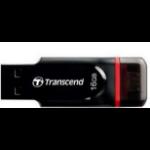 Transcend JetFlash 340 USB flash drive 16 GB USB Type-A / Micro-USB 2.0 Black