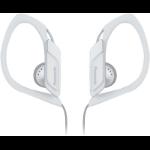 Panasonic RP-HS34PP Gancho de oreja Biauricular Alámbrico Color blanco auricular para móvil