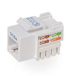 Belkin Cat.5e Keystone Jack White cable interface/gender adapter