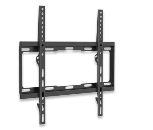 """Manhattan Monitor/TV Wall Mount (fixed), 1 screen, 32-55"""", Vesa 200x200 to 400x400mm, Max 40kg, Black"""
