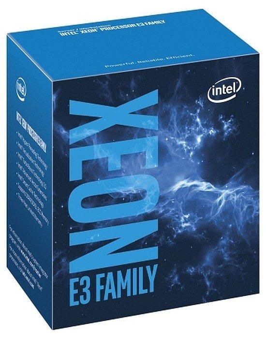 Intel Xeon ® ® Processor E3-1240 v6 (8M Cache, 3.70 GHz) 3.7GHz 8MB Smart Cache Box processor