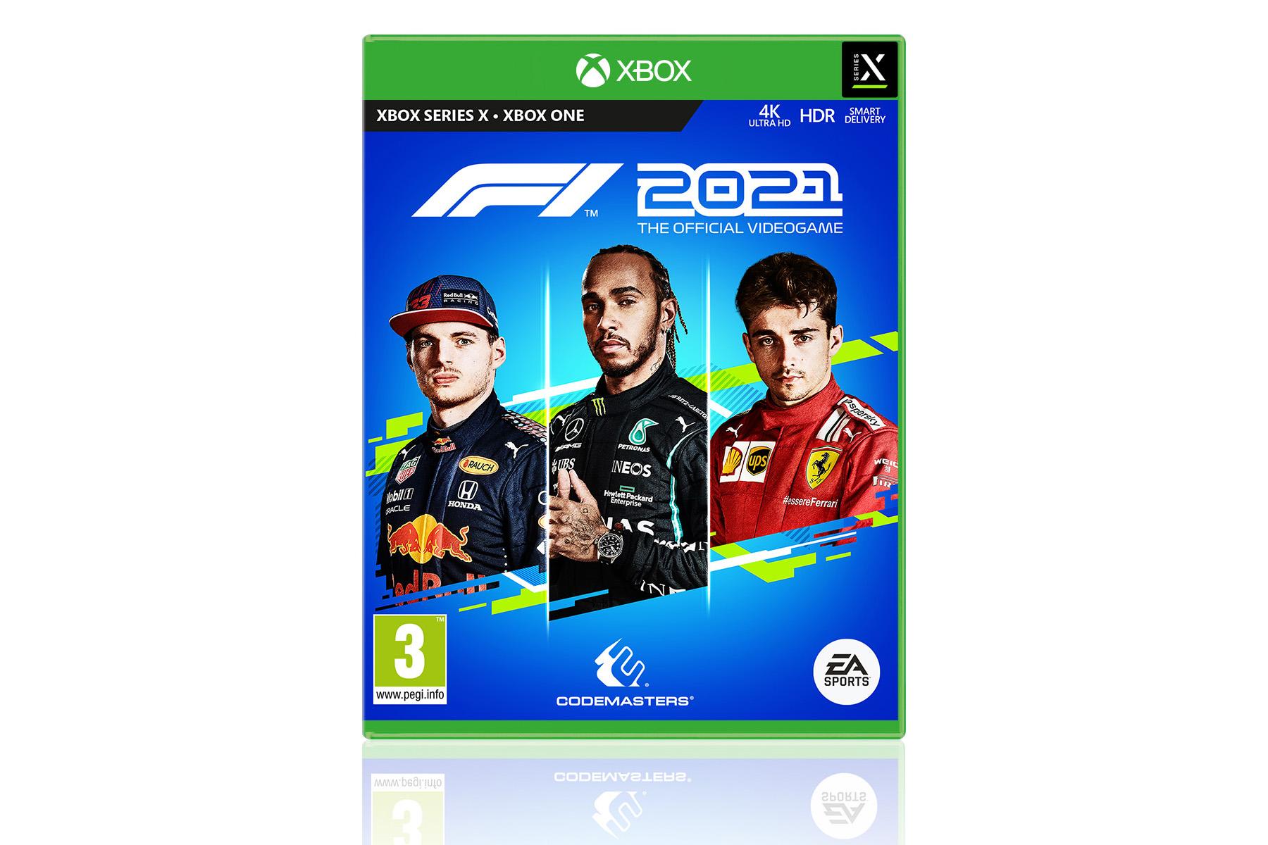 Microsoft XBox One F1 2021 Game