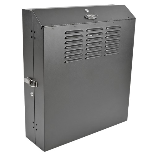 Tripp Lite 6U SmartRack Low-Profile Wall-Mount Rack Enclosure Cabinet Vertical-Mount Switch-Depth