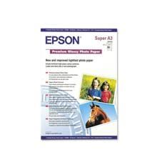 Epson Premium Glossy Photo Paper, DIN A3+, 250 g/m², 20 hojas