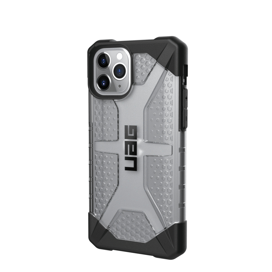 "Urban Armor Gear 111703114343 funda para teléfono móvil 14,7 cm (5.8"") Folio Negro, Gris, Translúcido"