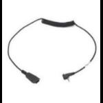 Zebra 25-124411-03R kabeladapter/verloopstukje Zwart
