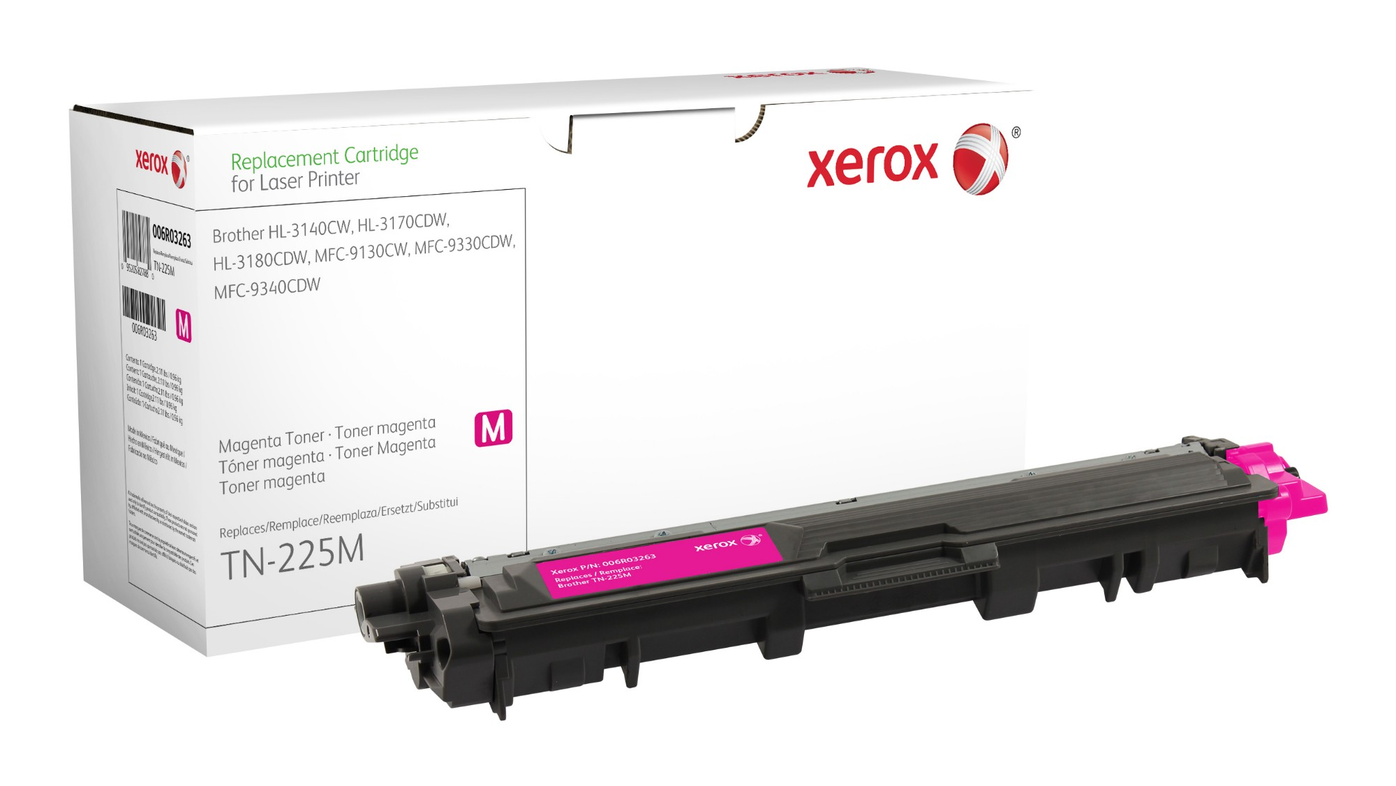 Xerox Cartucho De Tóner Magenta. Equivalente A Brother Tn245M