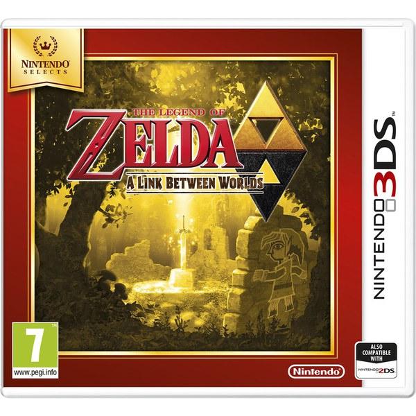 Nintendo The Legend of Zelda: A Link Between Worlds(Selects), 3DS