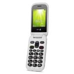 "Doro 2404 6.1 cm (2.4"") 100 g Black, White Feature phone"