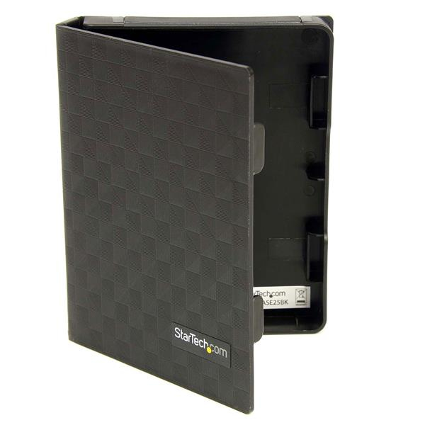 StarTech.com 2.5in Anti-Static Hard Drive Protector Case - Black (3pk) HDDCASE25BK